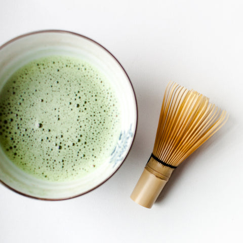 Ceremonial grade Japanese green tea matcha