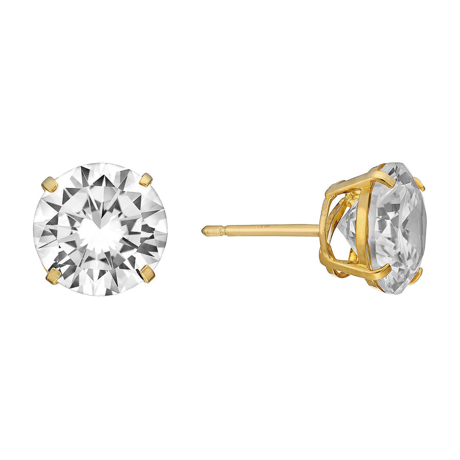 Stud Earrings (9ct Solid Gold)