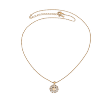 Sofia Necklace - Light Silk (Gold)
