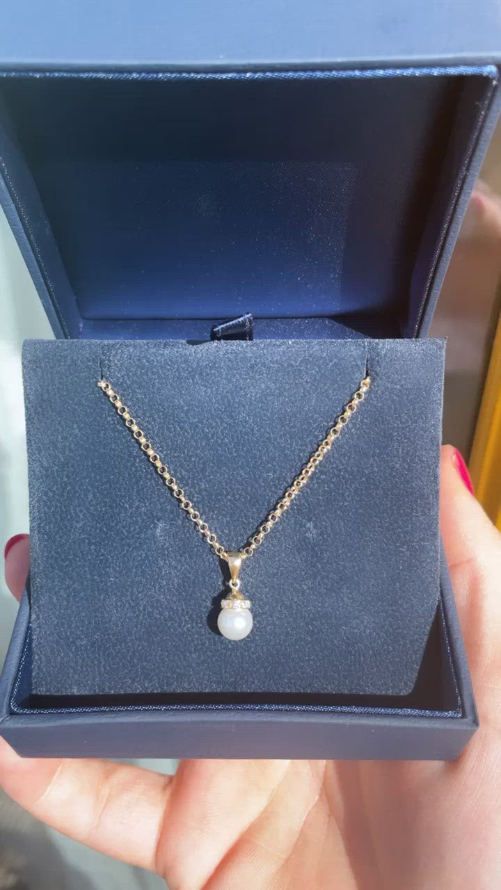 Pearl Pendant (9ct Solid Gold)