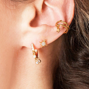 Light the Way  Ear Cuff (18ct Gold Plated)