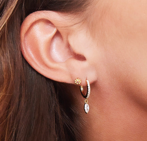 Heather  Earrings ( 18ct Gold & White Gold Available)