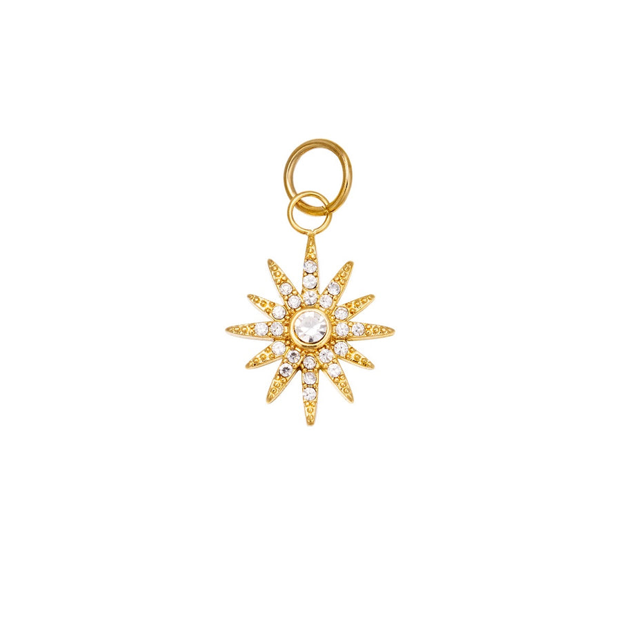 Shinning Star Charm (Gold & Silver Available)