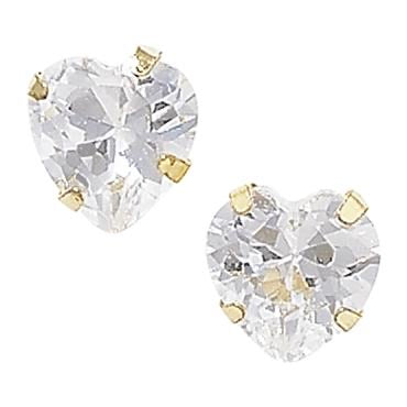 Heart Earrings (9ct Solid Gold)