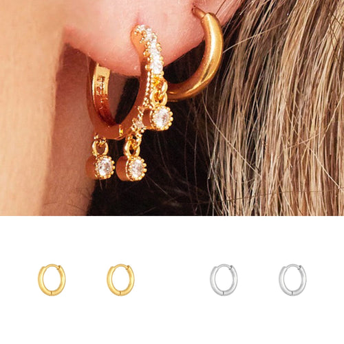 Mini Hoops (Gold Plated)