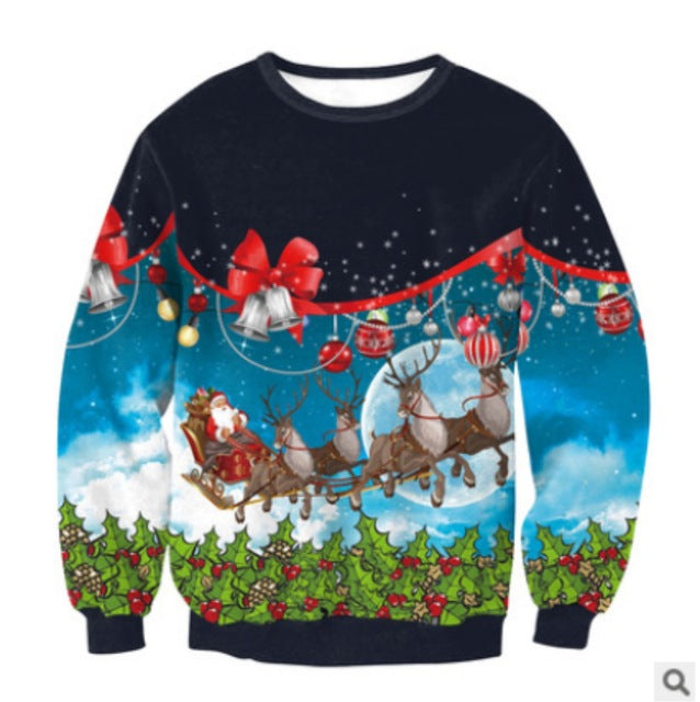 Ugly Christmas Sweater Series - Sleigh Bells