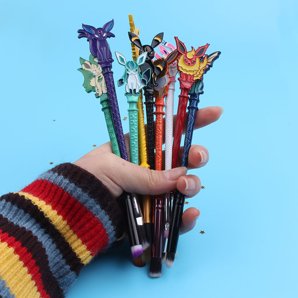 EEVEElution Pokémon Makeup Brush Set