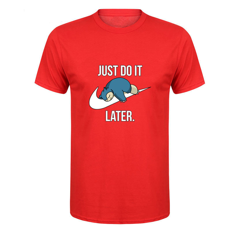 Pokémon T-Shirt - Just Do It... Later.