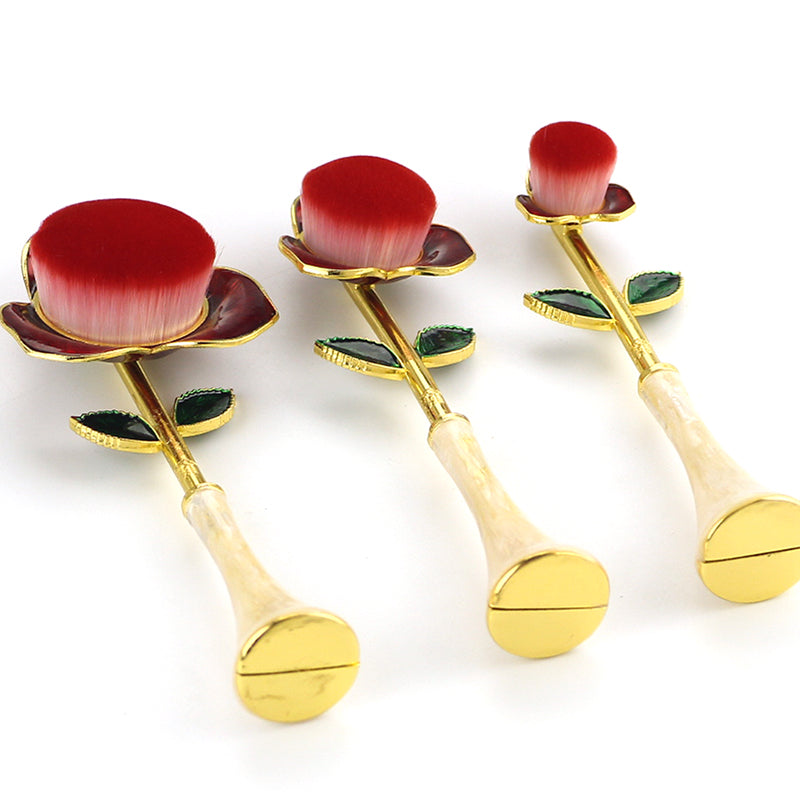 Golden Rose Makeup Brush Kit