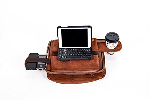 TaboLap Laptop Lap Desk Computer Bag   2 Built Into 1 With Mouse Pad, Cup  ...