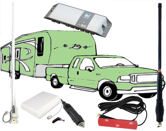 Legal Cel-Fi GO Mobile Phone Booster - Car-a-Van Pack - Trade