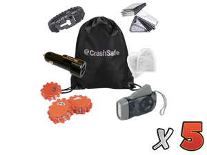 CrashSafe Bundle - Buy (3) + Get (2) FREE