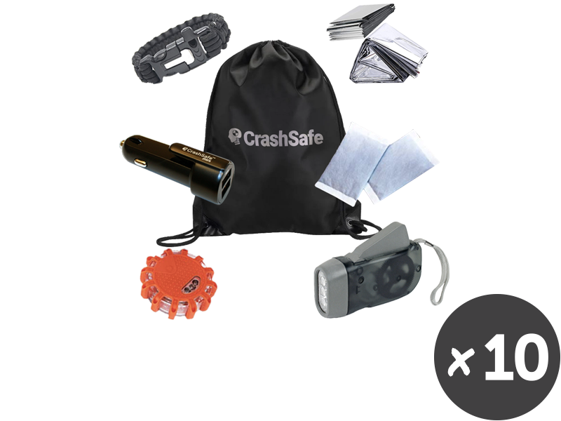 New CrashSafe Life Kit - Buy (5) + Get (5) FREE