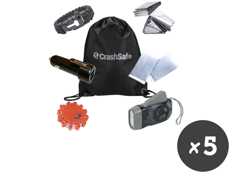 CrashSafe LifeKit - Buy (3) + Get (2) FREE