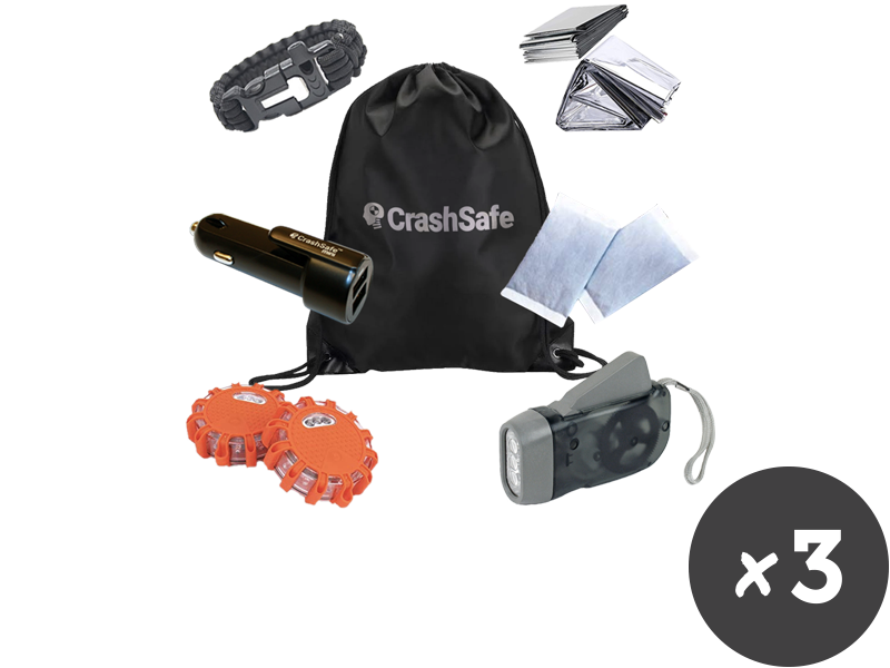 CrashSafe Life Kit - Buy 2 + Get 1 FREE