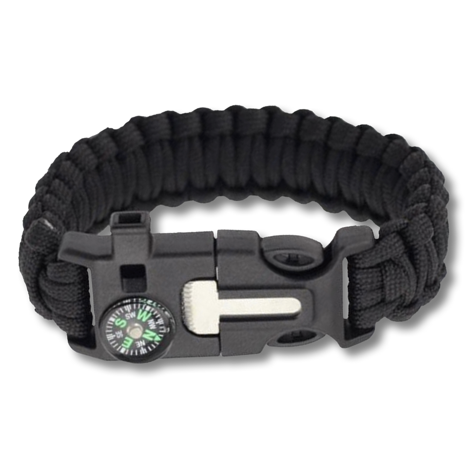 Paracord w/ Whistle & Fire Starter