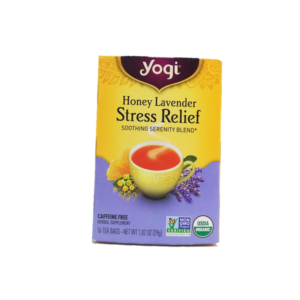 Té Honey Lavander Stress Relief