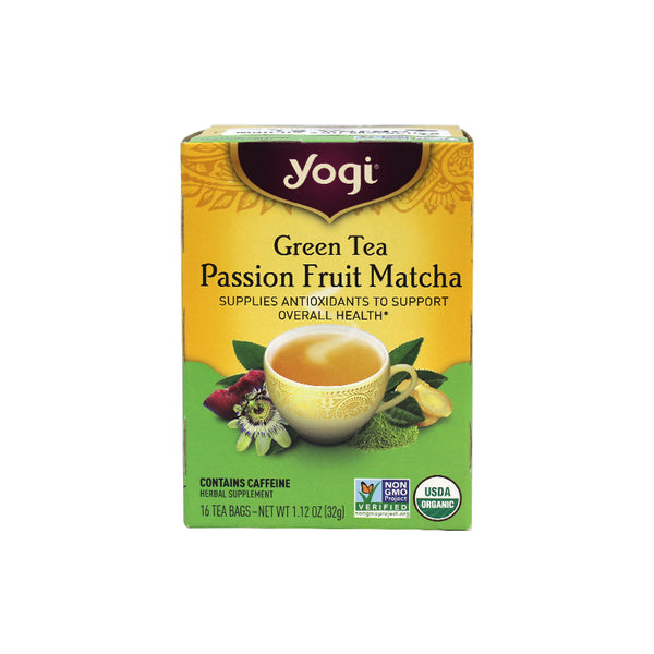 Té Green Passion Fruit Matcha