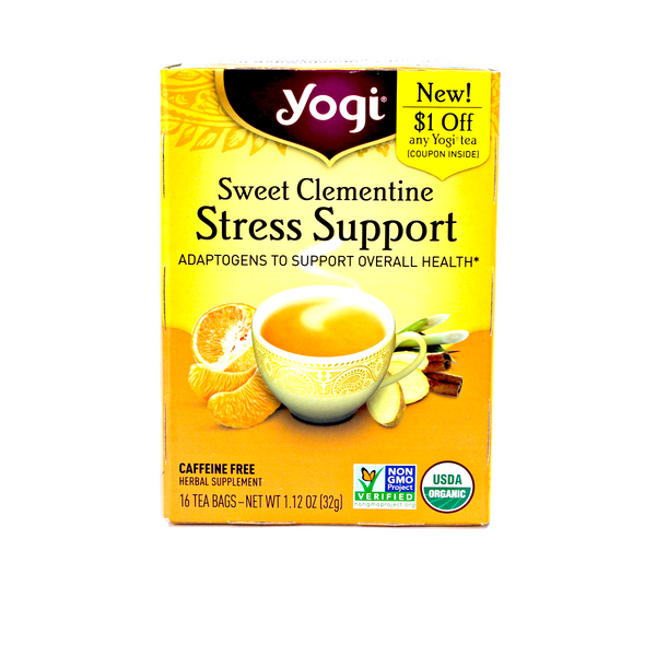 Té Sweet Clementine Stress Support
