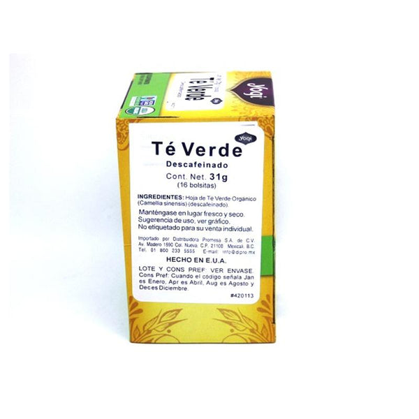 Té Green Pure Green Decaf