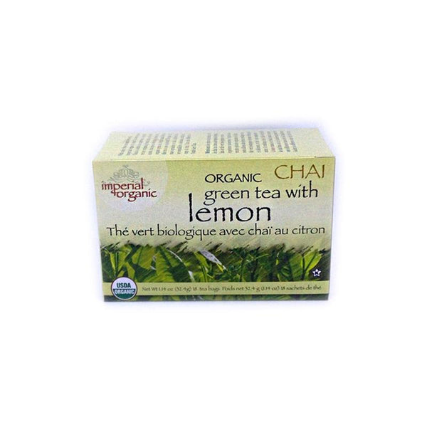 Green Tea with Lemon Chai Organic