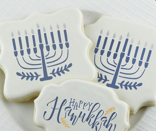 Hanukkah Cookie Stencil Craft- Peace Love Light Shop