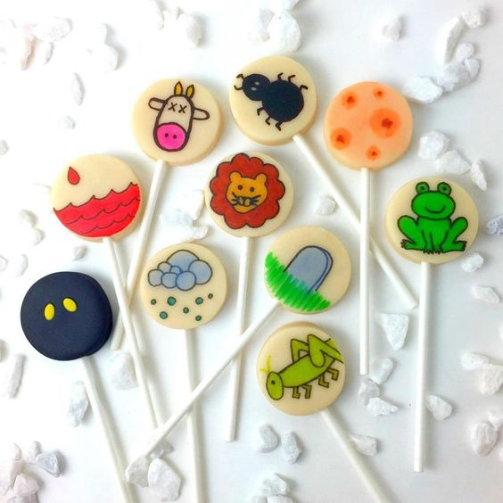 Passover Marzipan Pops- Peace Love Light Shop