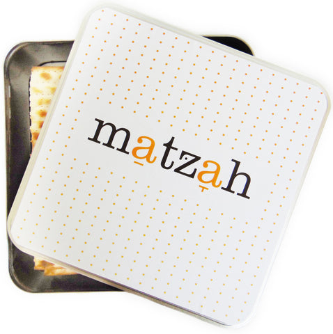 Matzah Tin Storage Box - Peace Love Light Shop