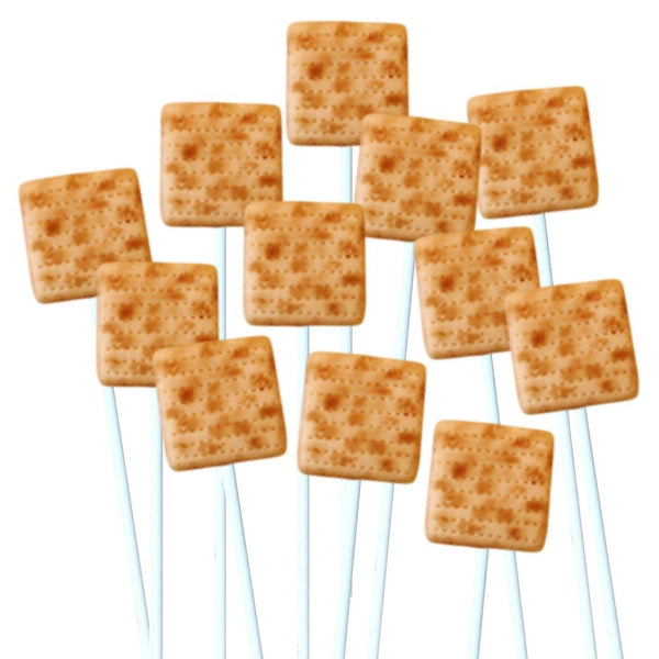 Passover Marzipan Matzoh Pops - Peace Love Light Shop