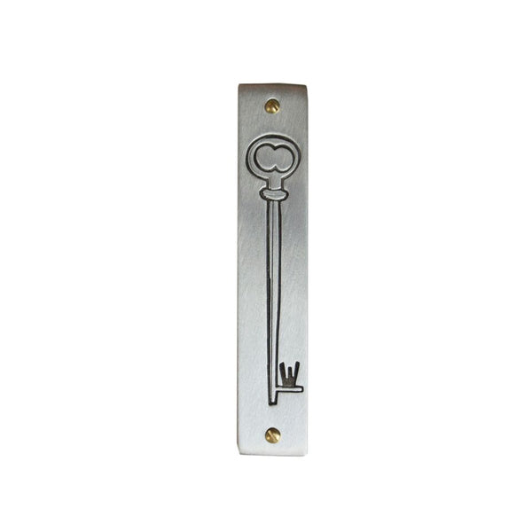 Line-Drawn Key Mezuzah - Peace Love Light Shop