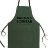 Bagels & Schmear I Love You So Dear Bib Apron with Pockets, Jewish Gift