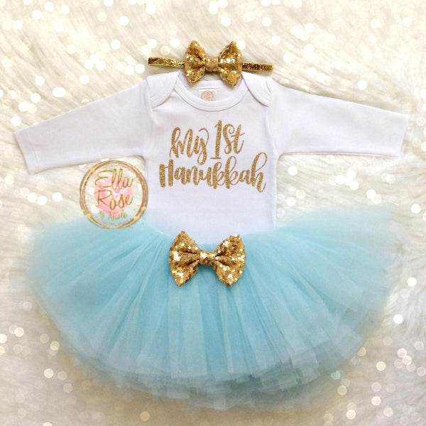 Hanukkah Baby/Toddler Outfit- Peace Love Light Shop