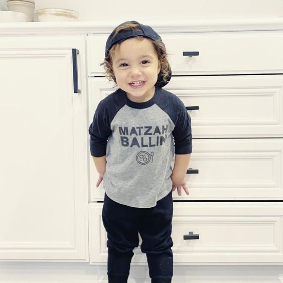 Passover Matzoh Ballin Toddler Shirt- Peace Love Light Shop