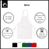 Personalized World's Best Bib Apron with Pockets, Custom Gift - Peace Love Light Shop