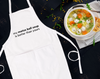 My Matza Ball Soup Is Better Than Yours Bib Apron with Pockets, Passover, Jewish Gift - Peace Love Light Shop