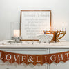 Hanukkah decorations- Peace Love Light Shop