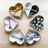 Heart shape bowls, Hanukkah gifts- Peace Love Light Shop
