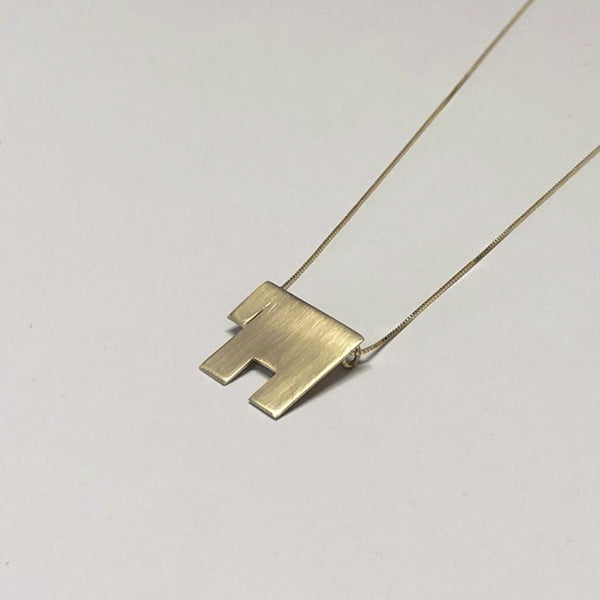 Minimalist Gold Chai Necklace, Jewish Jewelry - Peace Love Light Shop