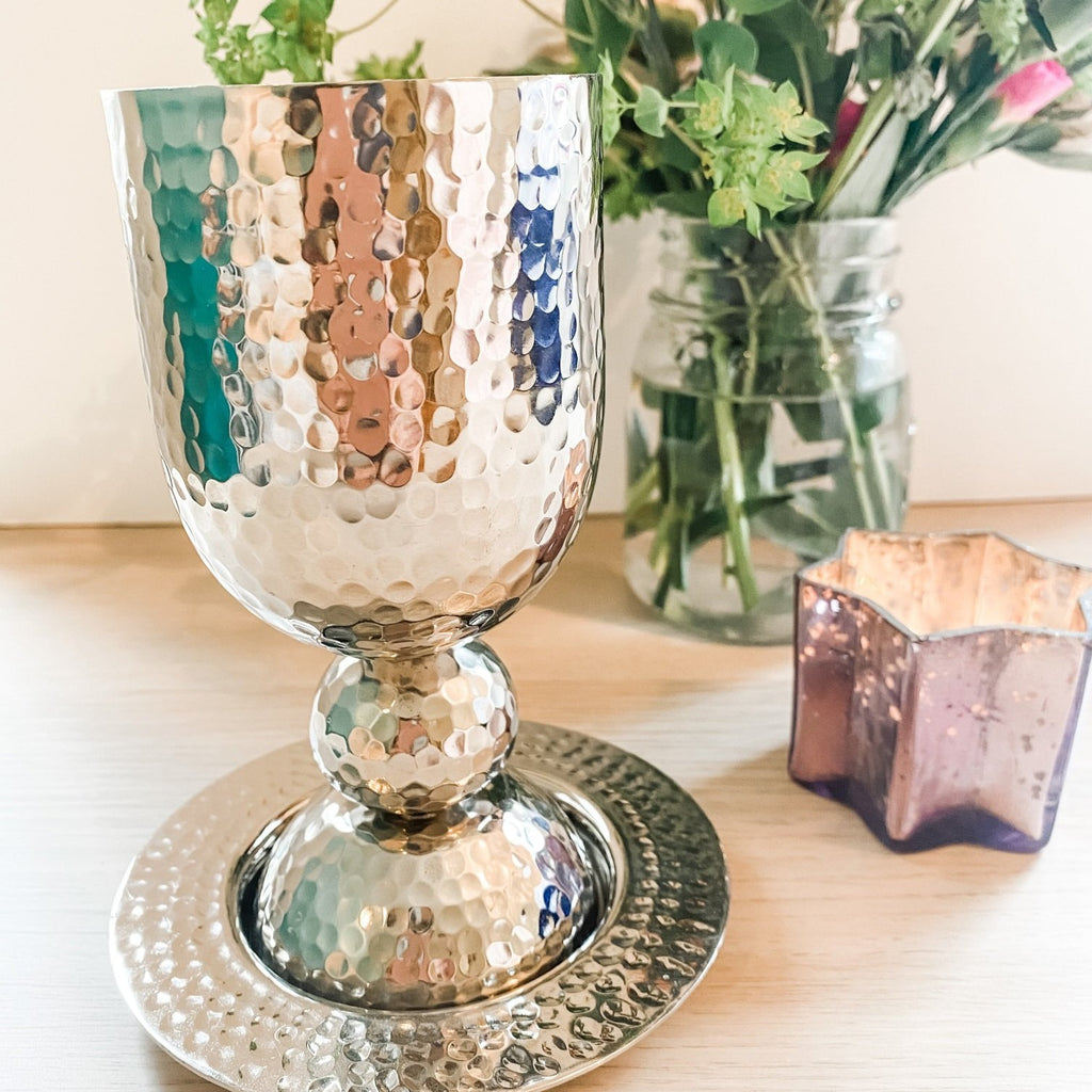 Kiddush Cup, Shabbat, Jewish Celebrations - Peace Love Light Shop