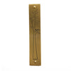 Modern Brass Mezuzah, Nest Design- Peace Love Light Shop