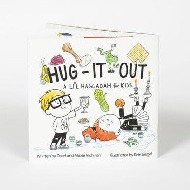 Hug-It-Out, Kids Companion Passover Modern Haggadah