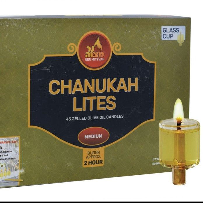 Oil cups for Hanukkah menorah- Peace Love Light Shop