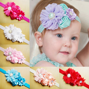 Elastic Flower Hair Bands