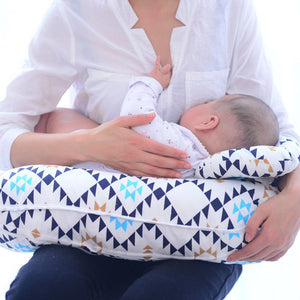 U-Shaped Nursing Pillow with Baby Head Support