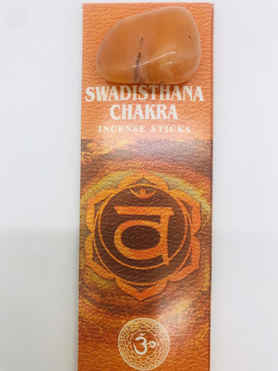 HEM 7 Chakra Incense Sticks and Incense Holder Set