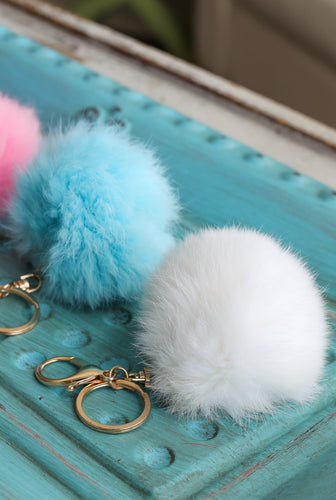 Fuzzy Key Chains-Sold in Fun Combinations! Or Buy Just 1!