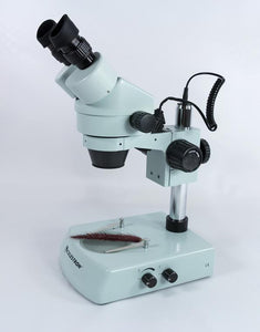 Right side view of the Celestron Professional Stereo Zoom Microscope (SKU: 44206).