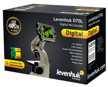 Box for Levenhuk D70L Digital Biological Microscope (SKU: 66826).