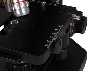 Stage for the Levenhuk 870T Biological Trinocular Microscope (SKU: 24613).