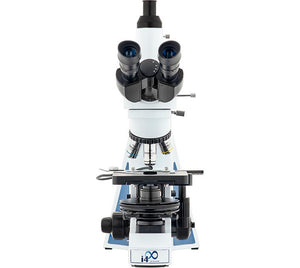 Front view of the LW Scientific Trinocular i4 Semen Evaluation Microscope (SKU: i4S-SET4-iPL3)